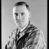 Former student, Mr. Irwin E. Juelse, National Automotive School, Southern California, 1930