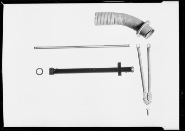 Parts of B. motor, Southern California, 1929