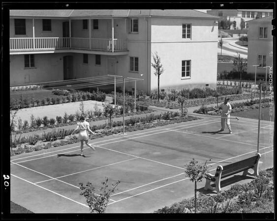 Living in Wyvernwood, 2901 East Olympic Boulevard, Los Angeles, CA, 1940