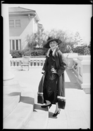 Laura La Plante at 7360 Hollywood Boulevard, Los Angeles, CA, 1925