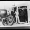 Copy of Nielsen's service station for post cards, Southern California, 1928