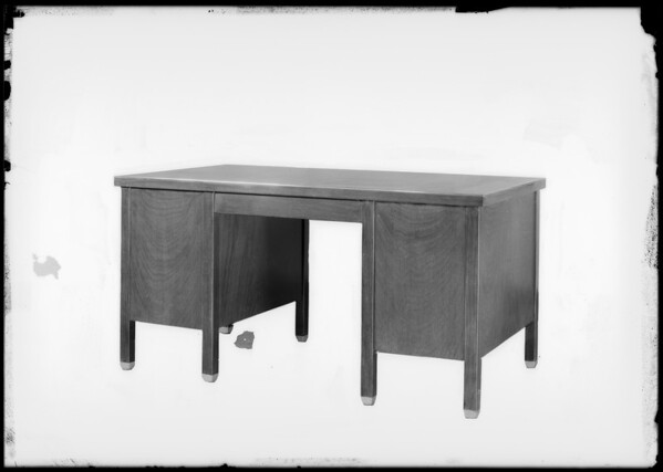 Desks, cabinets, etc., Southern California, 1929
