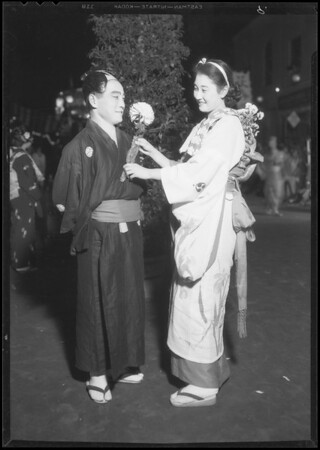 Flower festival, Southern California Flower Association, Southern California, 1934