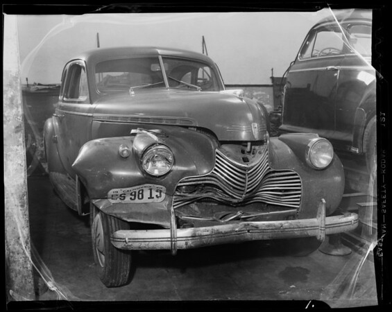 Chevrolet coupe, Los Angeles, CA, 1940