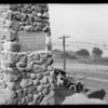 Battle of Cahuenga monument, Los Angeles, CA, 1925