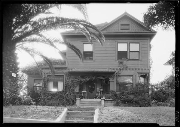 1014 Kensington Road, Southern California, 1926