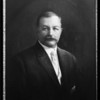 Copy of oil painting of former president Drake, Pacific Southwest Bank, Southern Californa, 1926