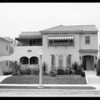 1225 South Wilton & 223-225 South Orange, Los Angeles, CA, 1926