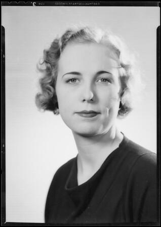 Portrait, Southern California, 1934