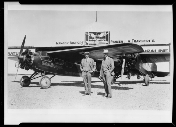 Copy of airplanes, Southern California, 1929