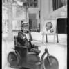 Armless & legless man at Grauman's Chinese Theatre, Los Angeles, CA, 1928