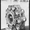Bread making machine parts, Southern California, 1931