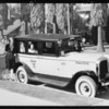 Fleet of new cabs, Yellow Cab Co., Southern California, 1927