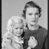 Mother & child, Southern California, 1934