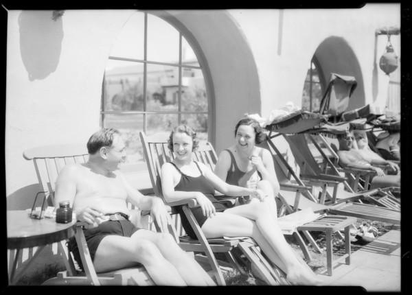 At Palm Springs, CA, 1934