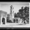 Ojai street scene, Southern California, 1934