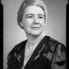 Portrait, Mrs. Georgia Farmer, Southern California, 1940