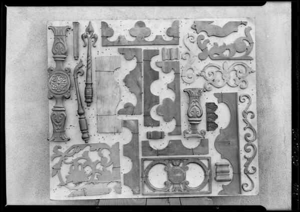 Pattern boards, Southern California, 1926