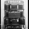 Batteries and racks, Trojan Battery Co., Southern California, 1930