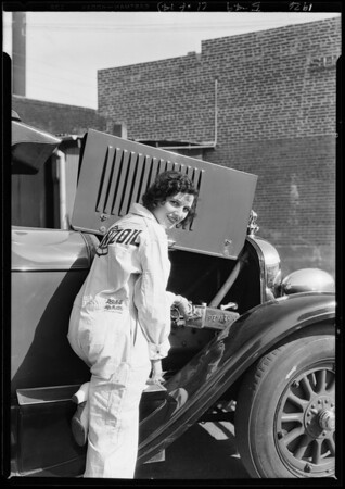 Pennzoil publicity, Southern California, 1926