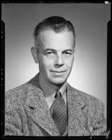 Portrait, Mr. Dodd, Southern California, 1940
