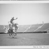 Trick riding at Rose Bowl, 1001 Rose Bowl Drive, Pasadena, CA, 1934