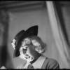 Candid camera shots of Al Jolson, James J. Jeffries, Joan Blondell, Sydney & Murray & Vic Young, Southern California, 1935