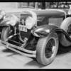 Cadillac-assured car, Metropolitan Casualty Co., Southern California, 1934