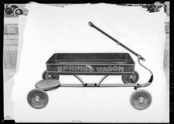 Springo toys, Standard Co., Southern California, 1926