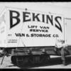 Bekins Van and Storage Co., Southern California, 1924