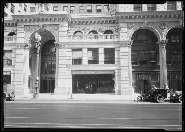 Pacific Southwest Bank, Pershing Square Branch, Los Angeles, CA, 1924