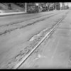 Ruts in street, Southern California, 1925