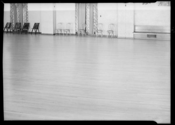 Lonesome Club dance floor, file #462, Southern California, 1934