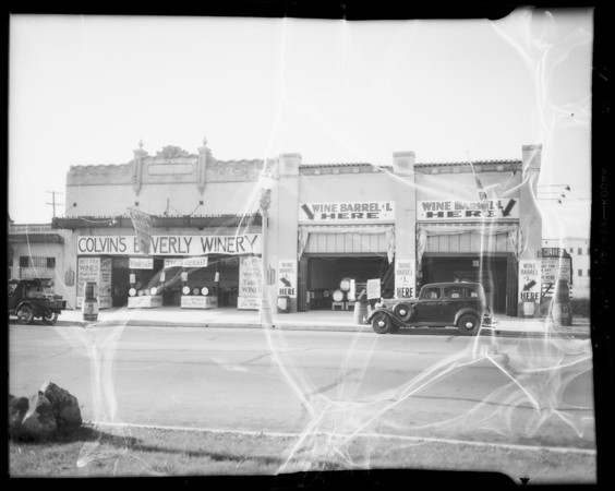 Winery store - 7161 Beverly Boulevard, Los Angeles, CA, 1934