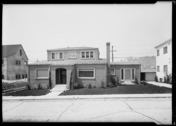 2145 Beechwood Terrace, Southern California, 1926