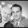 Portraits of Dr. Charles S. Benson and wife, Southern California, 1934