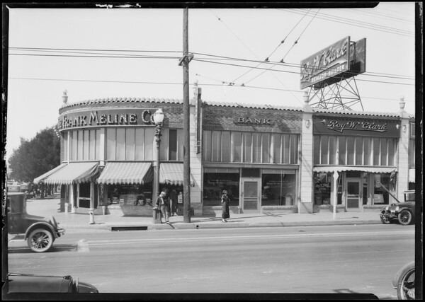Pacific Southwest Bank, Beverly and Western Branch, Los Angeles, CA, 1924