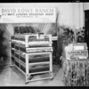 David Lowe Ranch booth, poultry show, Southern California, 1930