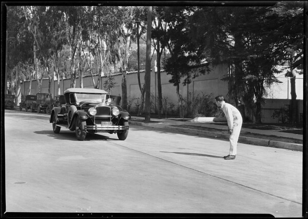 Brake machine, Southern California, 1928