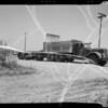 John Gregg truck and trailer, Southern California, 1940