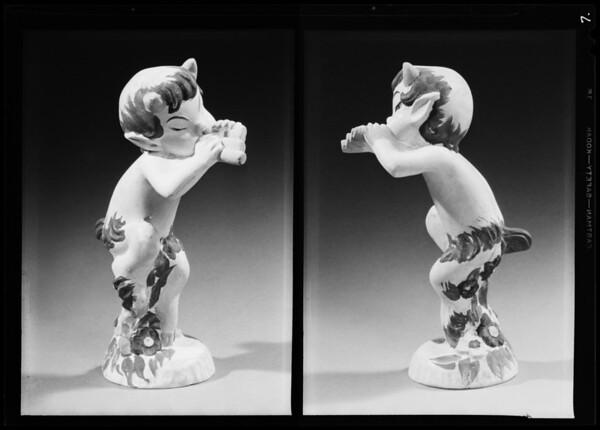 Small Disney figures, Southern California, 1940