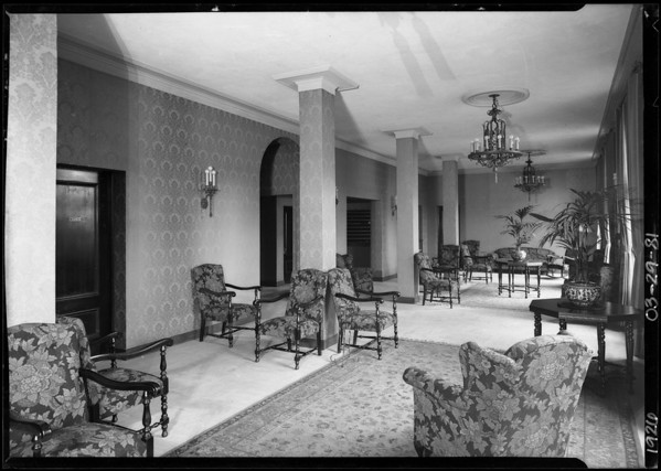 Mens' hotel, 928 8th Place, Southern California, 1926