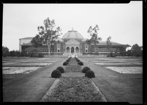 Exposition Park Museum, Los Angeles, CA, 1926