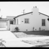 Residence - 4105 South Norton Avenue, Los Angeles, CA, 1934