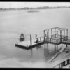 Boats, etc. at Lido Isle, Newport Beach, CA, 1928