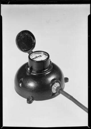 Meter, Southern California, 1930