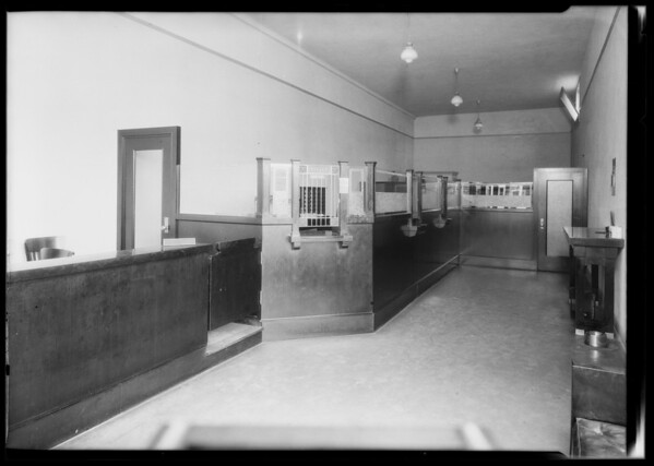 West Pico Boulevard & South Mariposa Avenue branch, Pacific Southwest Bank, Los Angeles, CA, 1924