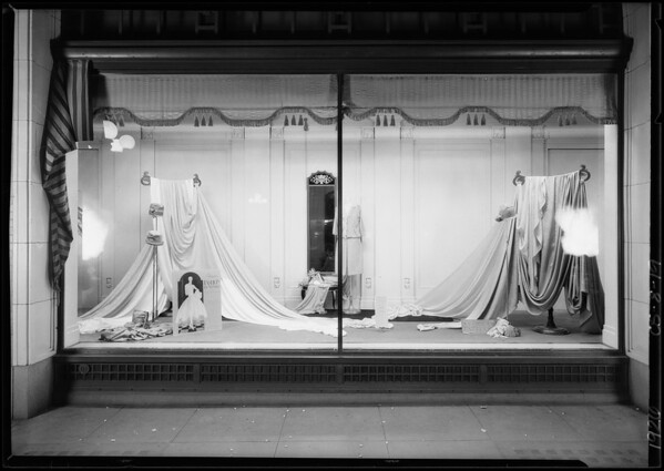 Vogue silk window, Southern California, 1926