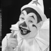 Clowny and package of Pearl of Wheat, Southern California, 1934