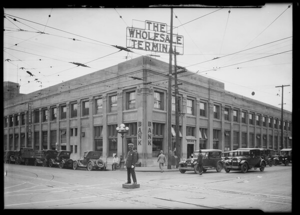 Pacific Southwest Bank, 7th and Central Branch, Los Angeles, CA, 1924